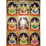 Tanjore paintings tanjore glass paintings buy tanjore for Ananthasayanam mural painting